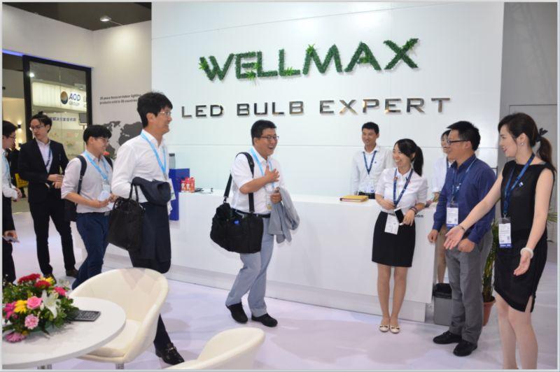 展会直击:三星副总裁一行参观中国战略合作伙伴Wellmax展位