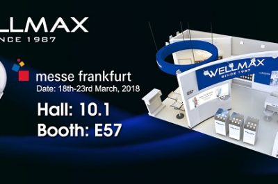 WELLMAX将重磅出击2018法兰克福展览会